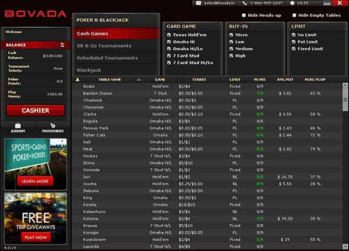 Bovada Poker is the number 1 room that accepts US players and is number 9 in the worldwide traffic charts, which is impressive considering it only accepts players from one country (USA)