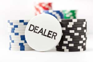 Poker Position dealer button