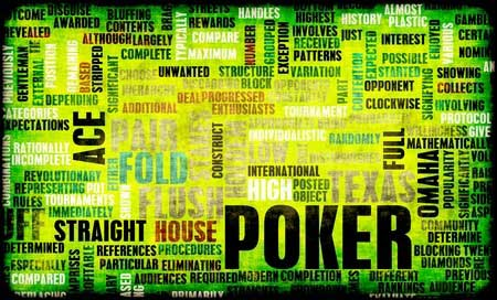 poker words
