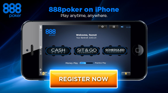 Play Poker on your iPhone