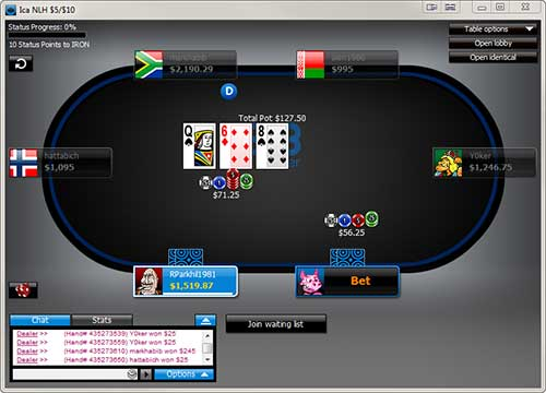 Software & Graphics - The 888 Poker Software is available for both Windows and Apple Mac platforms, and is also available for mobile and tablet platforms on iOS (iPad / iPhone) and Android.