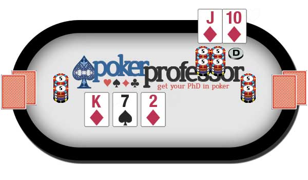 Free Card Play - flop