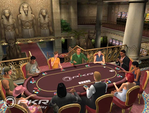 The PKR software is taking online poker to the next generation with the first 3D software client that feels more like a video game
