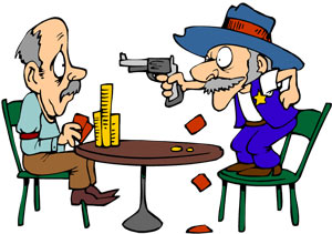 """Poker Tilt - When we say a player goes on """"tilt"""" what we mean is someone makes a very bad decision or decisions in response to a previous situation."""